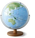 【送料無料!】レイメイ藤井 土地被覆タイプ地球儀(全回転) 30cm OYV260 「地球地図プロジェクト」モデル 地球儀スケ…