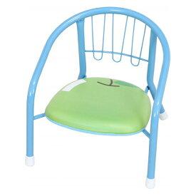 ベビーローチェアー 幅360 奥行340 高さ350mm アップルブルー ストロベリーピンク 不二貿易 チェア 椅子 いす イス キッズ ベビー FB-32868 FB-32869