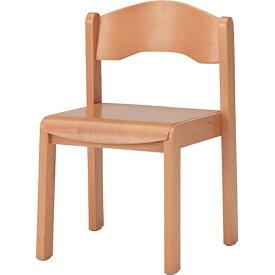 キッズチェア CHD-3 幅345×奥行327×高さ524mm (座面高さ298mm) ナチュラル TOKIO 木製 スタッキング 子供用 椅子 ローチェア FK-CHD-3
