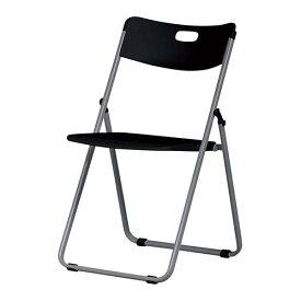 5脚セット 折り畳みイス 幅480×奥行510×高さ770×座面高さ425mm ブラック 弘益 折り畳みチェア 折り畳み椅子 会議チェア 会議用チェア 椅子 イス KE-FP-930-BK-5