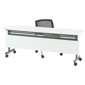 フォールディングテーブル4 W1800 用オプション幕板 幅1790 奥行24 高さ300mm ホワイト RFヤマカワ テーブル用幕板 折りたたみテーブル スタックテーブル 会議用テーブル RF-SHFT-OP-180-4WH 当店人気