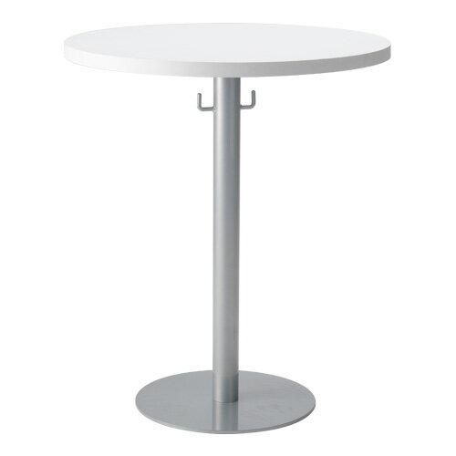 【送料無料】ラウンドテーブル幅60cmフック付き VD-VRT-600 カフェテーブル 丸テーブル リフレッシュテーブル