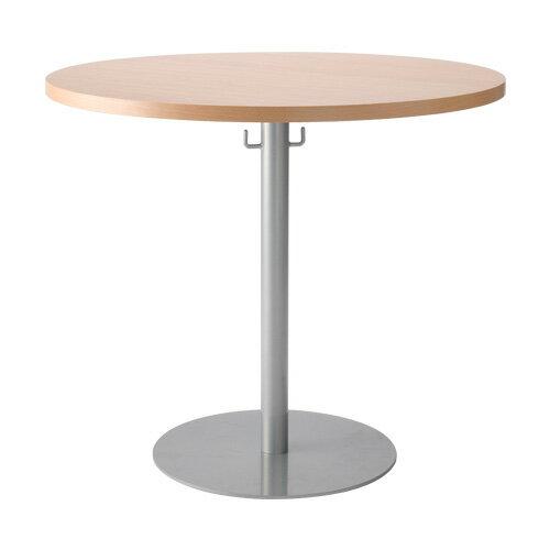 【送料無料】ラウンドテーブル幅80cmフック付き VD-VRT-800 丸テーブル カフェテーブル リフレッシュテーブル
