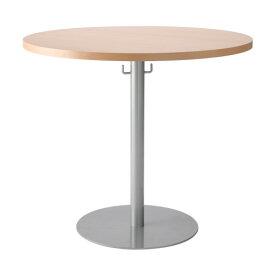 ラウンドテーブル幅80cmフック付き 幅800 高さ700 ホワイト ナチュラル Vデザイン カフェテーブル 会議用テーブル 幅80 丸テーブル 丸 リフレッシュテーブル SC-20 CFL-T80 ラウンジ 打ち合わせ 飲食 エントランス GD-U750M RFRT カフェ ロビー PY-422 丸型 円形 VD-VRT-800