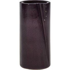 陶製傘立て Φ220 高さ450mm ブラック ダークグレー 不二貿易 傘立て 陶製 おしゃれ シンプル FB-94749 FB-94750