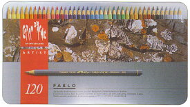 CRAN D'ACHE (カランダッシュ) パブロ 油性色鉛筆 120色缶入 (38400)【RCP】