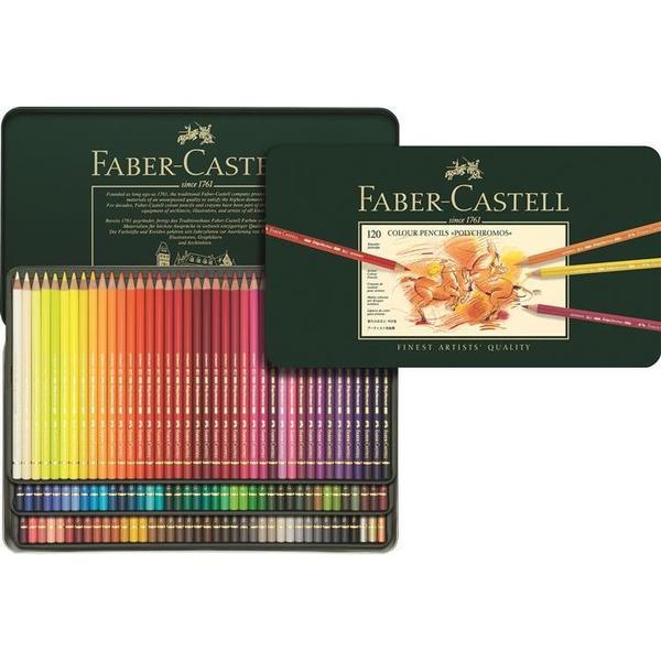 FABER-CASTELL(ファーバーカステル) ポリクロモス色鉛筆 120色 (缶入)110011 (36000) 【RCP】★当日出荷可能です。【土・日・祝除】(時間によっては発送日は異なります)