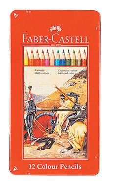 FABER-CASTELL(ファーバーカステル) 色鉛筆 12色セット TFC-CP/12C 74411(800) 【RCP】