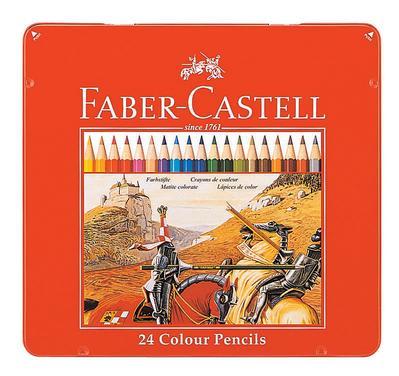 FABER-CASTELL(ファーバーカステル) 色鉛筆 24色セット TFC-CP/24C 74412(1600) 【RCP】