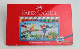 FABER-CASTELL(ファーバーカステル) 水彩色鉛筆 36色セット TFC-WCP/36C (3000)【RCP】  ★当日出荷可能です。【土・日・祝除】(時間によっては発送日は異なります)