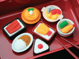 イワコー おもしろ消しゴム食堂セット 消しゴム(60個入)(60個入り) Japanese Food er-9951083 ER-951083(3000)【RCP】 4991685951083