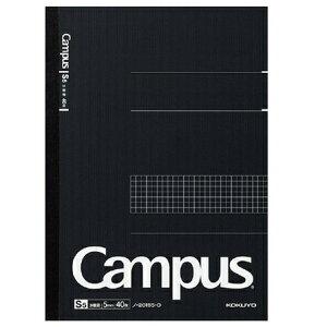 コクヨ 大人のキャンパスノートキャンパスノート(方眼罫) A4 40枚 5冊セットノ-201S5-D 1号(A4)サイズ図や表が書きやすい5mm方眼罫です。ビジネスシーンでアイデアや構成をまとめるのに