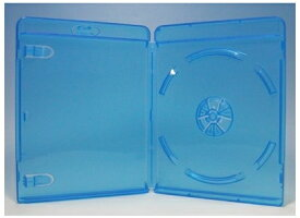 ブルーレイディスクケース 1枚収納 100枚 Blu-rayロゴあり (ブルーレイケース Blu-rayケース (100枚x1))【4500円以上で送料無料】