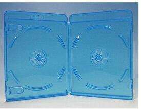 ブルーレイディスクケース 2枚収納 25枚 Blu-rayロゴあり (ブルーレイケース Blu-rayケース (25枚x1))【4500円以上で送料無料】