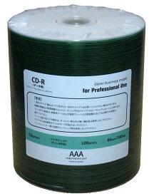 CD-R 業務用 Officeブランド 52倍速 ワイド ロゴ無し 600枚 (CR80JW600HI-AAA) 高発色レーベル(100枚x6) 高品質CD-R