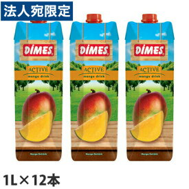 ディメス マンゴードリンク 果汁15% 1L×12本
