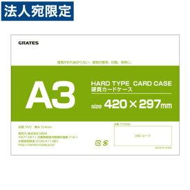 硬質カードケース ハードタイプ A3