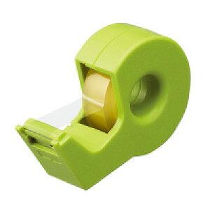 テープカッター<カルカット>緑 ハンディタイプ小巻き 緑 T-SM300G【コクヨ】