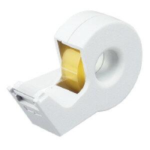 テープカッター<カルカット>白 ハンディタイプ小巻き 白 T-SM300W【コクヨ】