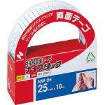 ナイスタック 再生紙両面テープ 25mm×10m 巻芯直径76mm NW-25【ニチバンNICHIBAN】