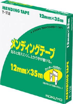 メンディングテープ 大巻12mm×35m 紙箱入【コクヨKOKUYO】T-112お買い得10巻パック