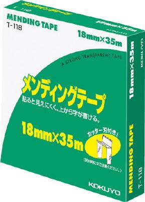 【コクヨ】メンディングテープ 大巻18mm×35m 紙箱入T-118