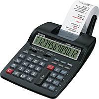 プリンター電卓 2色印字 【カシオ計算機】HR-170TM-BK-N