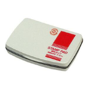スタンプ台(油性顔料タイプ)小形(1号) 盤面サイズ:65×40mm 赤 IP-611R【コクヨ】