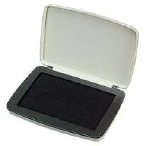 スタンプ台(油性顔料タイプ)中形(2号) 盤面サイズ:90×55mm 黒 IP-612D【コクヨ】
