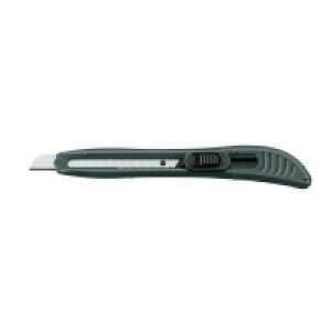 カッターナイフ(標準型・グリップ付き) 全長145mm 刃幅9mm 黒 HA-7ND【コクヨ】