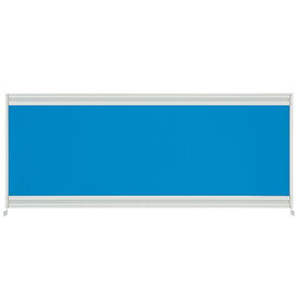 【送料無料】【組立費無料】【メーカー直送の為代引き不可】UJデスクトップパネルW1000用 ブルー【プラス】UJ-104P-J BL
