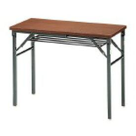 脚折りたたみテーブル TWS-M0945WN【ジョインテックス】サイズW900×D450mm【メーカー直送商品】【代金引換不可】