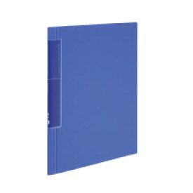 クリヤーブック<ノビータ>ウェーブカット A4縦 固定式20枚ポケット 青 ラ-TN560B【コクヨ】