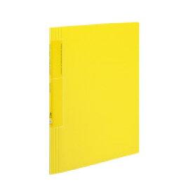 クリヤーブック<ノビータ>ウェーブカット A4縦 固定式20枚ポケット 黄 ラ-TN560Y【コクヨ】