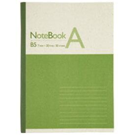 再生紙ノート セミB5 A罫1冊 P041J【ジョインテックス】