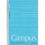【ゆうパケット対応可】キャンパスノート B罫(ドット入り罫線) 4号(B6)22行 罫幅6mm 40枚 ノ-211BTN【コクヨKOKUYO】