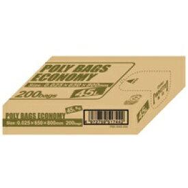 ポリ袋エコBOX45L乳白半透明PBE-W45-200【オルディ】