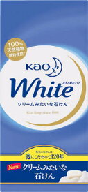 花王 花王ホワイト石鹸 85g×6個 231994