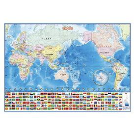 いろいろ書ける!消せる!世界地図【デビカ】073102