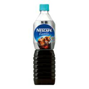 ネスレネスカフェエクセラ ボトルコーヒー無糖 900ml×12本 12213569※軽減税率対象商品