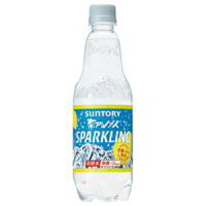 南アルプスの天然水 スパークリングレモン 500ml×24本 317611【サントリー】※軽減税率対象商品