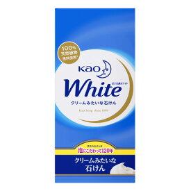 花王ホワイト レギュラーサイズ 85g×6個入【花王】738618