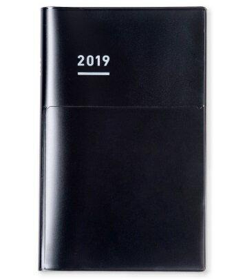 送料無料!<2019年版> ジブン手帳 Biz mini 2019 ツヤカバータイプ B6スリム(H190×W120mm)Biz mini DIARY ニ-JBM2D-19 艶黒ブラック 【コクヨ KOKUYO】
