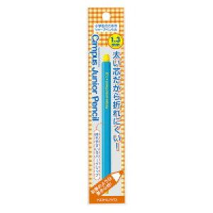 【ゆうパケット対応可】鉛筆シャープ キャンパスジュニアペンシル 吊り下げパック 1.3mm ブルー PS-C101B-1P【コクヨ】