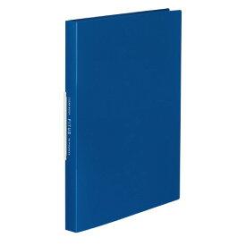 クリヤーブック<FITUS>固定式 40枚ポケット 2穴とじ具付き 青ラ-FT40B【コクヨ】