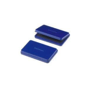 【ゆうパケット対応可】シヤチハタ スタンプ台 大型 盤面サイズ:67×106mm 藍 HGN-3-B【シヤチハタ】