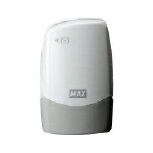 【ゆうパケット対応可】個人情報保護スタンプ<コロレッタ> ホワイト レターオープナー付 SA-151RL/W2【マックス】