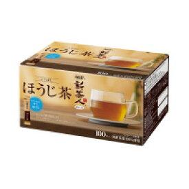 新茶人 こうばしほうじ茶 インスタント スティック 100本 42648【味の素AGF】※軽減税率対象商品