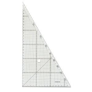 【ゆうパケット対応可】レイアウト用方眼三角定規 30cm 966-30【ステッドラー】