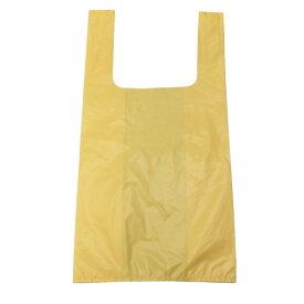 カラー手提げ袋 イエロー PP-CTM-20Y【オルディ】